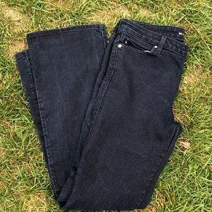 Michael kors flare dark blue jeans size 10